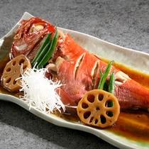 【夕食】金目鯛の姿煮 別注可
