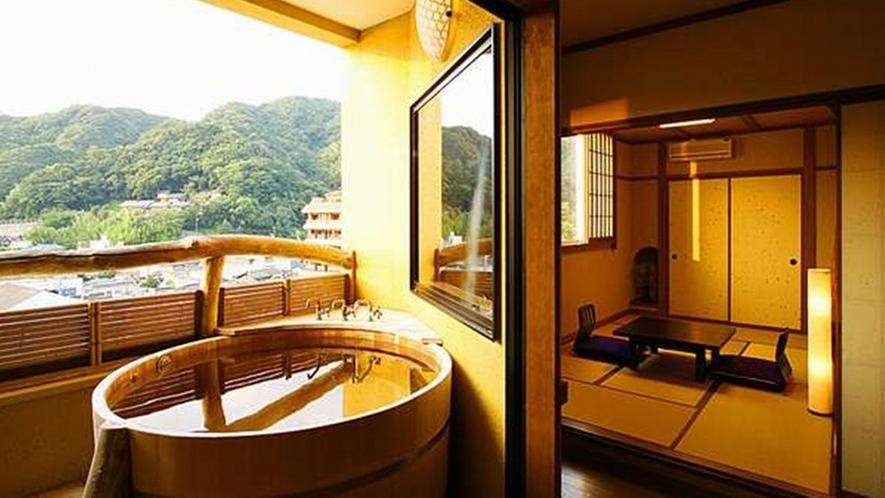 【客室】露天風呂付き客室(一例)