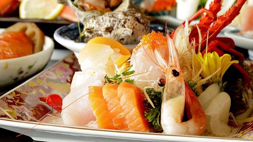 【夕食】季節のお料理 一例