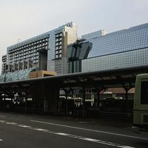 京都駅(当館は地下街を通りすぐ♪)