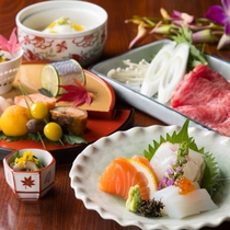 「本格京会席プラン」 料理長の匠の技が光る四季ごとの一品一品