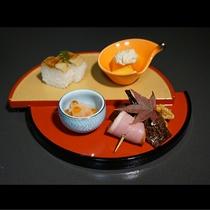 会席料理一例①