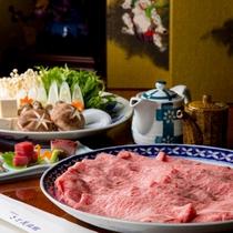 「しゃぶしゃぶプラン」お口いっぱいに広がる風味豊かな肉の旨味!