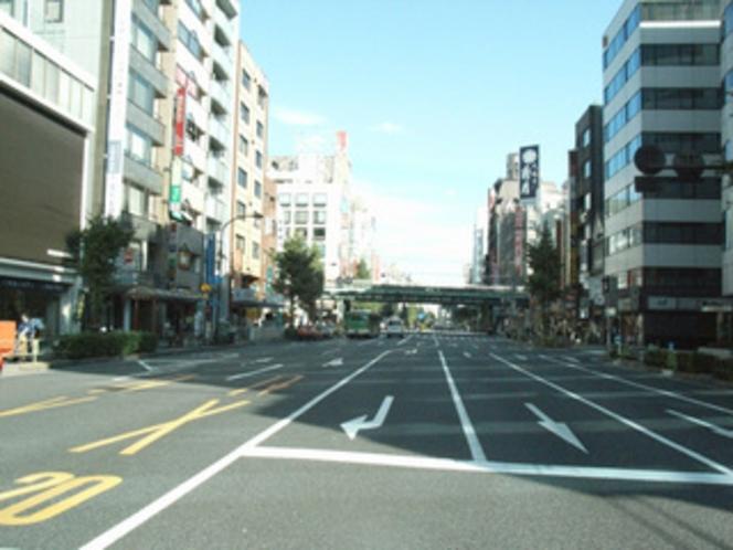 浅草橋問屋街