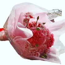 お花の手配もさせて頂きます