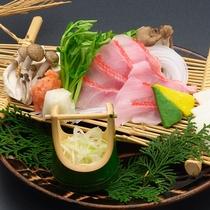 【別注料理】 金目鯛のしゃぶしゃぶ