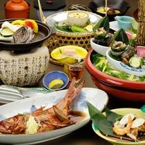 磯会席料理のご夕食イメージ