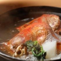 金目鯛の塩炊き