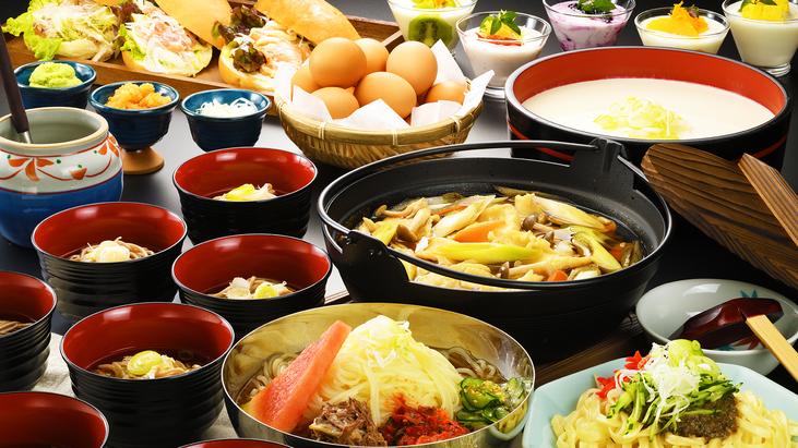 【朝食ビッフェ/料理イメージ】 岩手の郷土料理を揃えた朝食♪「岩手の朝」をご堪能ください♪