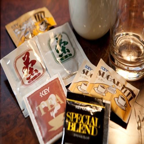 【ティーセット】◆コーヒー◆紅茶◆ほうじ茶◆煎茶◆