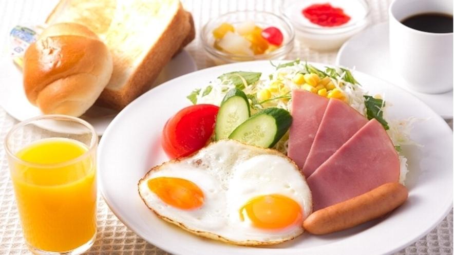 朝食☆モーニングセット(洋食)