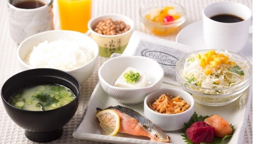 朝食☆モーニングセット(和食)