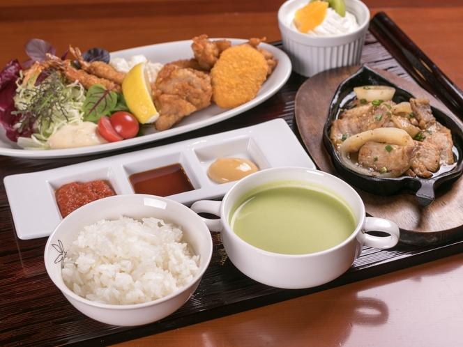 選べる夕食セット!※写真は洋食です。