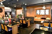 和食レストラン猩々(しょうじょう)テーブル席