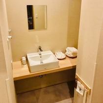 コンフォートツインルーム(IoTスマートルーム)洗面台