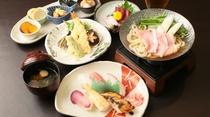 レストラン猩々(しょうじょう)人気メニュー!寿司セット