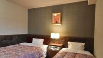 ◆ツイン(7階)/21㎡~23㎡・シングルベッド2台設置