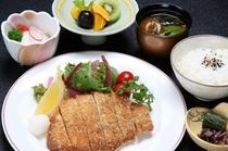 広島産豚ロースおろしカツレツ御膳(イメージ)
