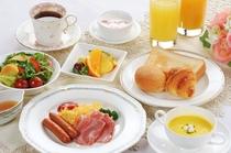 「フワラー」朝食洋食セット(イメージ)