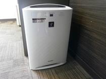 全客室に空気加湿清浄器を完備しています