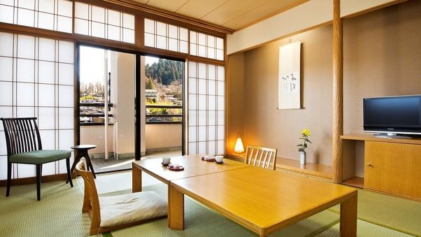 (新)【川側10畳-禁煙和室】赤い中橋・宮川を望む和室
