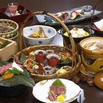 【料理】うまいもの膳〜秋にはナツメなど、飛騨らしいメニューが〜