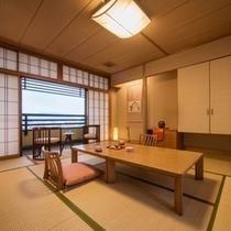 【部屋】町側10畳お値打ち和室