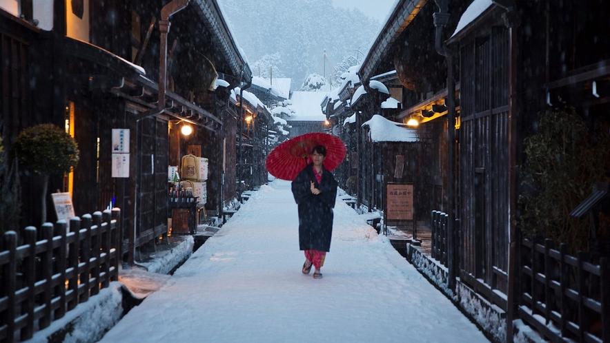 古い町並み ~冬~