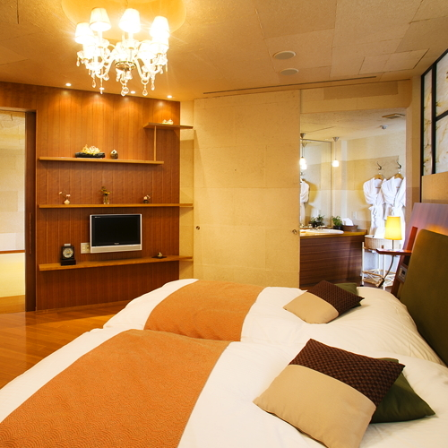 ■Jrスイート-光の間-■寝室