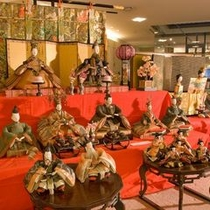 【ひなまつり】3月には、館内いっぱいにお雛様を飾ります〜飛騨高山ひな祭り〜