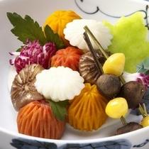 ■旬の飛騨野菜と飛騨牛会席〜秋〜■湯上り野菜