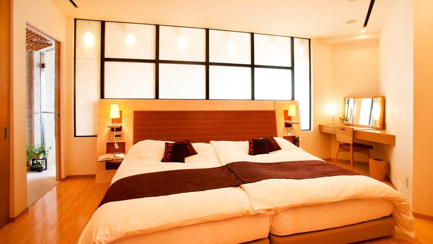 ■Jrスイート-輝の間-■寝室