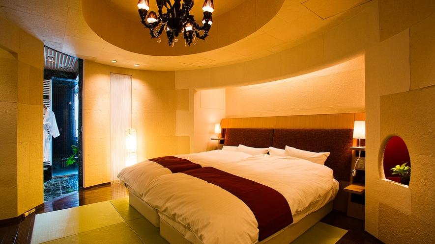 ■Jrスイート-宇宙の間-■寝室
