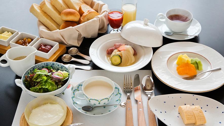 【洋朝食】飛騨の恵みに拘った洋朝食