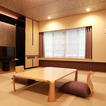 琉球畳風のゆったり和室(内側向き)