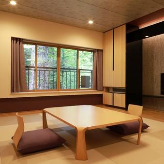 琉球畳風のゆったり和室(外側向き)