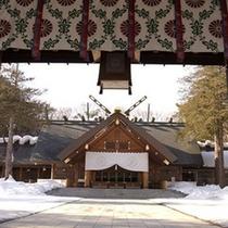 北海道神宮(冬)