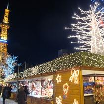 【ミュンヘンクリスマス市】例年11月下旬〜クリスマスごろまで♪