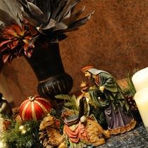 【館内】Xmasには特別なクリスマス装飾が♪