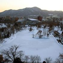 中島公園(冬)