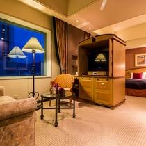 【Jrスイート】約44㎡の広々とした特別室!通常のツインルームよりもゆったり広々♪