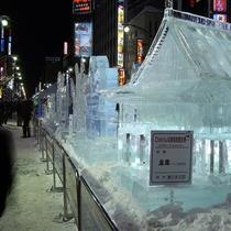 雪まつり・すすきの会場