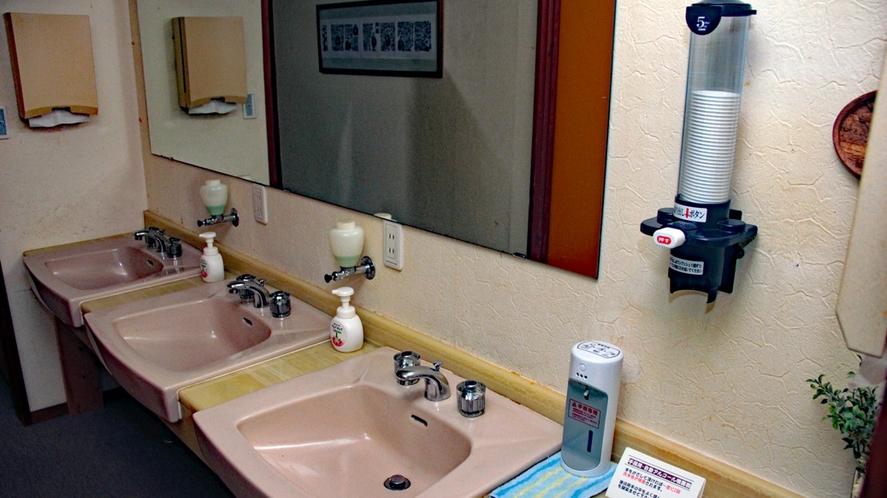 ゲストルームフロア洗面所