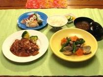 三河ポーク御膳お料理一例