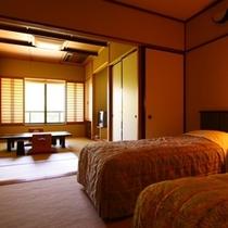 【3F和洋室】最上階、季節の風景とお部屋食が愉しめます(禁煙/喫煙は部屋タイプからお選び下さい)