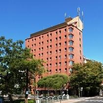 セントラルホテル岡山外観