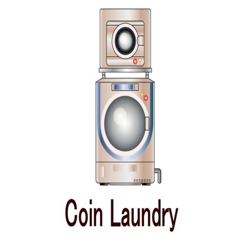【サービス】コインランドリーを設置しております(有料)。洗濯機 1回300円、乾燥機 30分100円