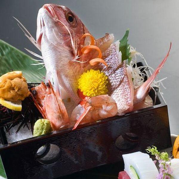 小鯛の姿造りイメージ