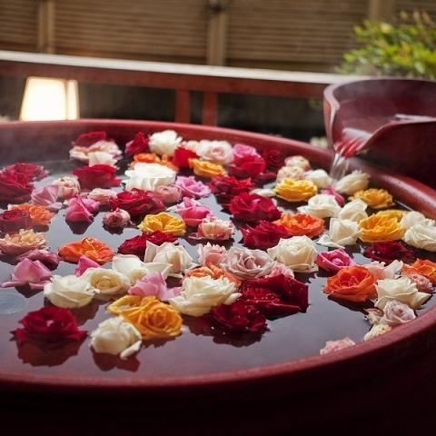 バラ風呂イメージ
