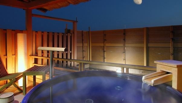 露天風呂付特別室『清月亭』